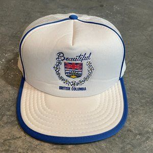 Vintage Beautiful British Columbia Snapback Hat